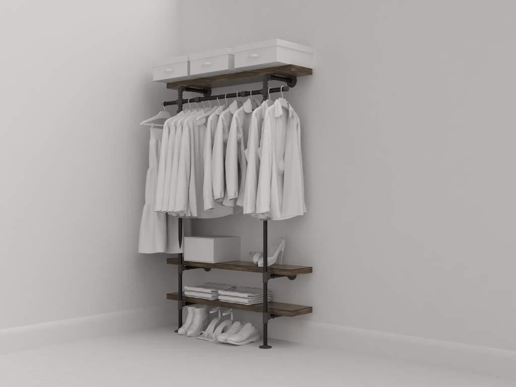 Minimal closetSea Loft